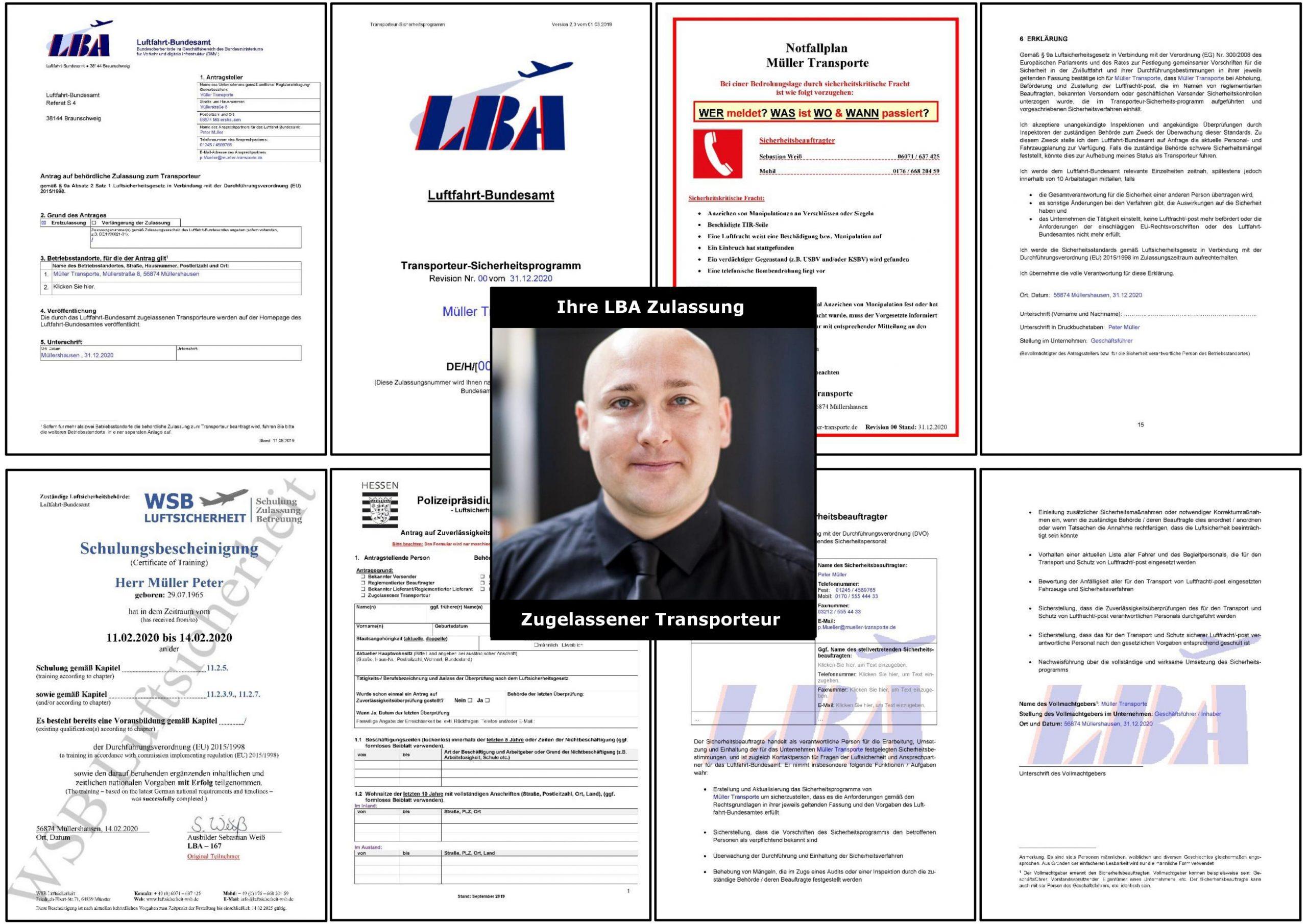 """So realisieren Sie Ihre LBA Zulassung als Zugelassener Transporteur SCHNELL,SICHER & STRESS-FREI trotz Corona! Sie erhalten alles notwendige und schonen Ihre Nerven vor """"unnötigen Behörden Kram"""" & sparen noch 1.499 €!!!"""
